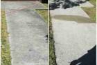 City of Surrey sidewalk power washing